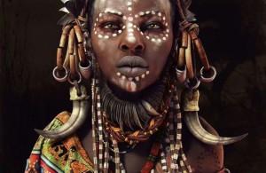 mursi woman de Moises Gomez