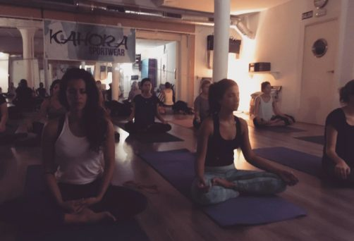 Yoga y Meditación Para Kahora Sportswear