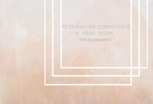 Taller Respiración Consciente y Yoga Nidra 7 Noviembre 2020
