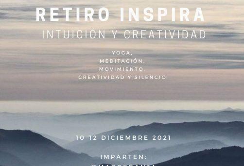 RETIRO INSPIRA – intuición y creatividad – 10-12 Diciembre 2021